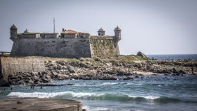 Queijo Castle in Portugal stock image