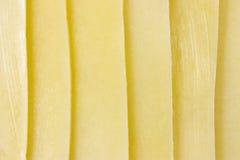 queijo cortado Foto de Stock