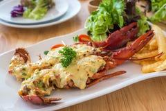Queijo cozido da lagosta Fotos de Stock
