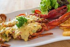 Queijo cozido da lagosta Fotos de Stock Royalty Free