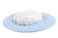 Queijo de casa de campo branco Imagens de Stock Royalty Free