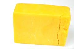 Queijo de queijo Cheddar Fotografia de Stock
