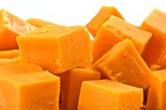 Queijo de queijo Cheddar Imagem de Stock