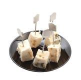 Queijo do Roquefort Foto de Stock Royalty Free
