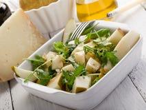 Queijo e salada das peras fotos de stock royalty free