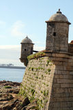 Queijo fortress,Porto, Portugal Stock Photography