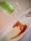Queijo Fresco - azorean cheese Stock Photo