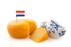 Queijo holandês Fotografia de Stock Royalty Free