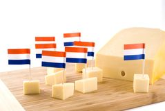 Queijo holandês Foto de Stock Royalty Free