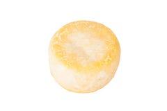 Queijo principal isolado em um fundo branco Imagem de Stock Royalty Free