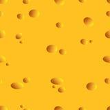 Queijo sem emenda da textura Fotografia de Stock Royalty Free