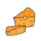 queijos ilustração stock