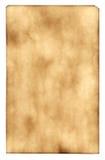 Queimado para fora de papel Imagem de Stock Royalty Free