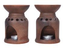 Queimador de óleo do aroma Imagem de Stock