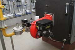 Queimador de gás Foto de Stock Royalty Free