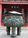 Queimador de incenso budista com Foto de Stock Royalty Free