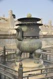 Queimador de incenso a Cidade Proibida imagem de stock royalty free