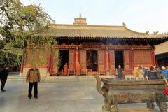 Queimador de incenso grande do templo do daciensi, adôbe rgb Imagens de Stock