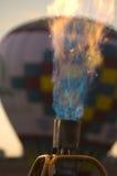 Queimador do balão de ar quente Foto de Stock Royalty Free