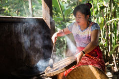 Queimador do café de Kopi Luwak Imagens de Stock Royalty Free