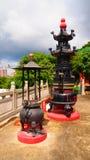 Queimadores de incenso chineses Foto de Stock