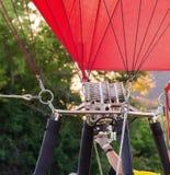 Queimadores do balão de ar quente Fotos de Stock Royalty Free