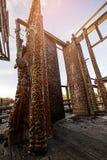 Queimadura buddha cinzelado madeira Foto de Stock Royalty Free