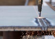 Queimadura de aço Fotografia de Stock Royalty Free