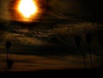 Queimadura de Sun do paraíso Fotografia de Stock