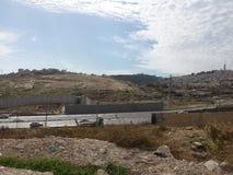 Queing alla parete dell'occupazione Immagini Stock Libere da Diritti