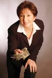 Queira algum dinheiro 2156 Imagem de Stock Royalty Free