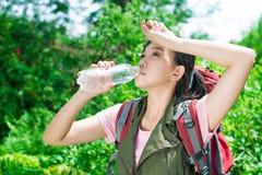 Queira alguma água! imagem de stock