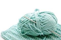 Queira com agulha de crochet imagem de stock royalty free
