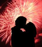 Quel baiser Photo libre de droits