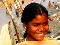 Quel sourire ! Photographie stock
