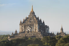 Quel tempio di nyu del byin in bagan Immagine Stock