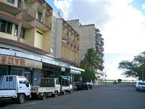 QUELIMANE, MOZAMBIQUE - 7 DECEMBER 2008: City street. Royalty Free Stock Photo