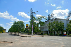 QUELIMANE, MOZAMBIQUE - 7 DECEMBER 2008: City street. Royalty Free Stock Image
