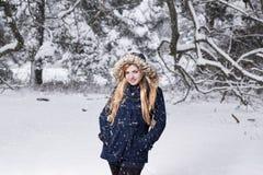 Quella è neve! Fotografie Stock