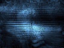 Quellcodetechnologiehintergrund vektor abbildung