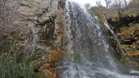 Quelle des Flusses Cuervo Cuenca stock video