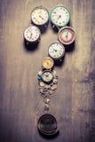 Quelle heure est il Image stock