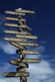 Quelle voie ? image libre de droits