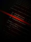 Quellencode Lizenzfreies Stockbild