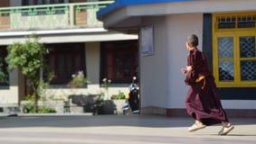 Quello con il monaco Fotografia Stock Libera da Diritti