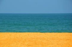 Quello con la spiaggia colorata Fotografie Stock Libere da Diritti