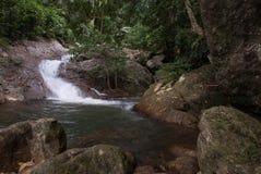 Quellwasserwasserfall Lizenzfreie Stockfotografie
