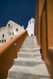 Quelque part dans Santorini Photo libre de droits
