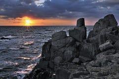Quelque part en Mer Noire photo stock