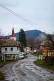 Quelque part en Roumanie Images libres de droits
